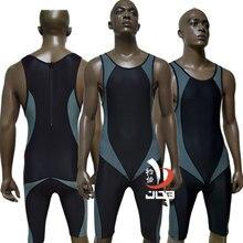 JOB 2017 Men's Triathlon Tri Suits Fifth Length One-piece Wetsuits Bodysuits Professional Sportswear Swimwear