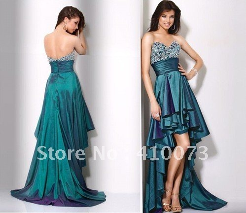 free shipping new collection custom beading party evening dress