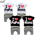 1-4yrs Summer New Children Baby Clothing Sets suit t shirt striped sport pants suits boy suit next kids girl clothes pajamas set