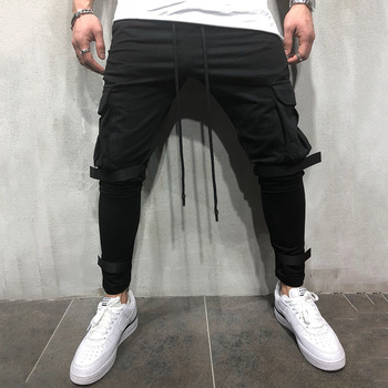 Joggers Multi-pocket Sweatpants 2