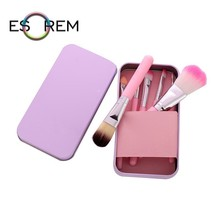 ESOREM 7pcs Cosmetic Brush Set With  Separate Package Storage Makeup Brushes Angled Shading Sponge Pinceaux Maquillage 062802