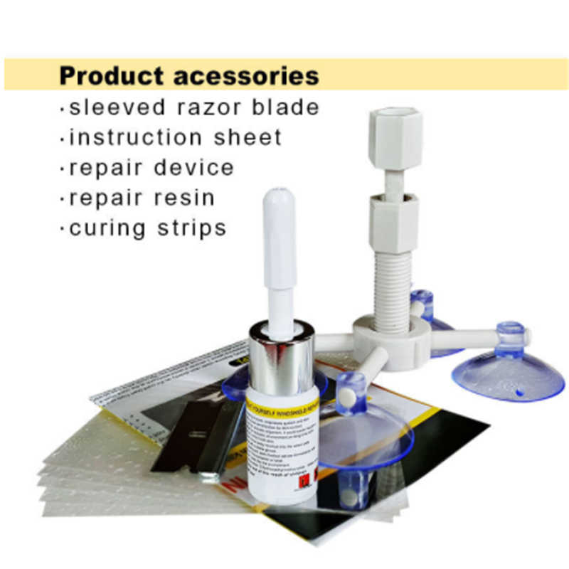 Detail Feedback Questions about Windshield Repair Kits DIY