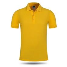men polo shirt gym short sleeves cotton polyester blend plain summer shirts polos fashions leisure wear logo customized
