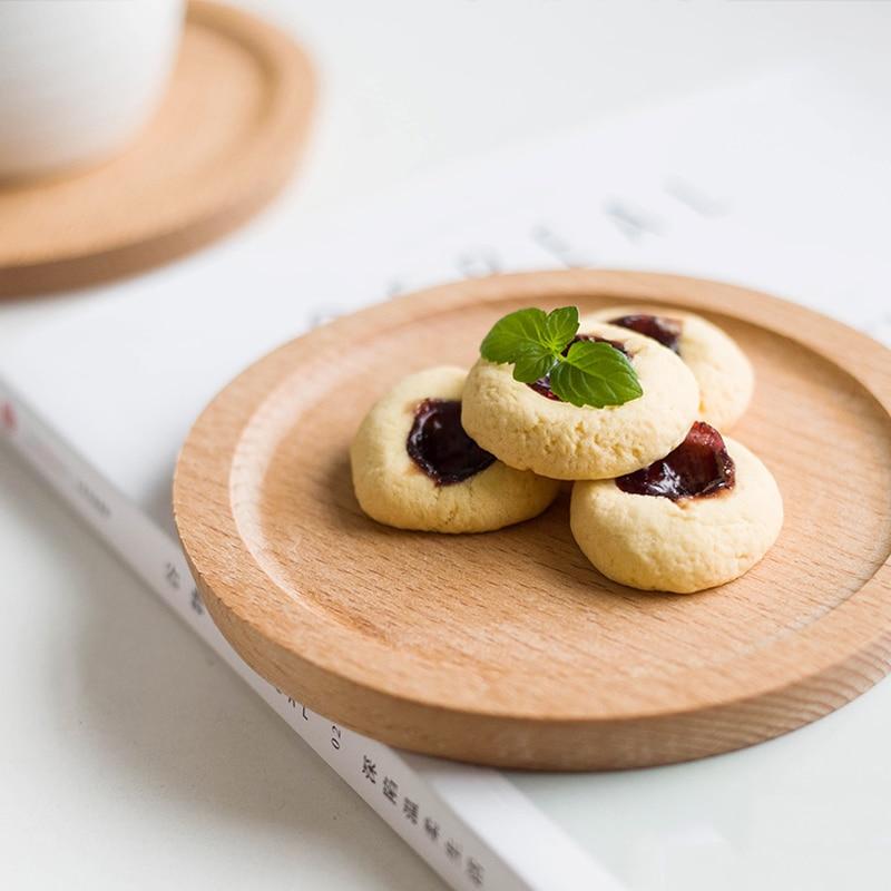 Ensemble de 4pcs Mini plateau à gâteau Petite assiette ronde en - Cuisine, salle à manger et bar - Photo 2
