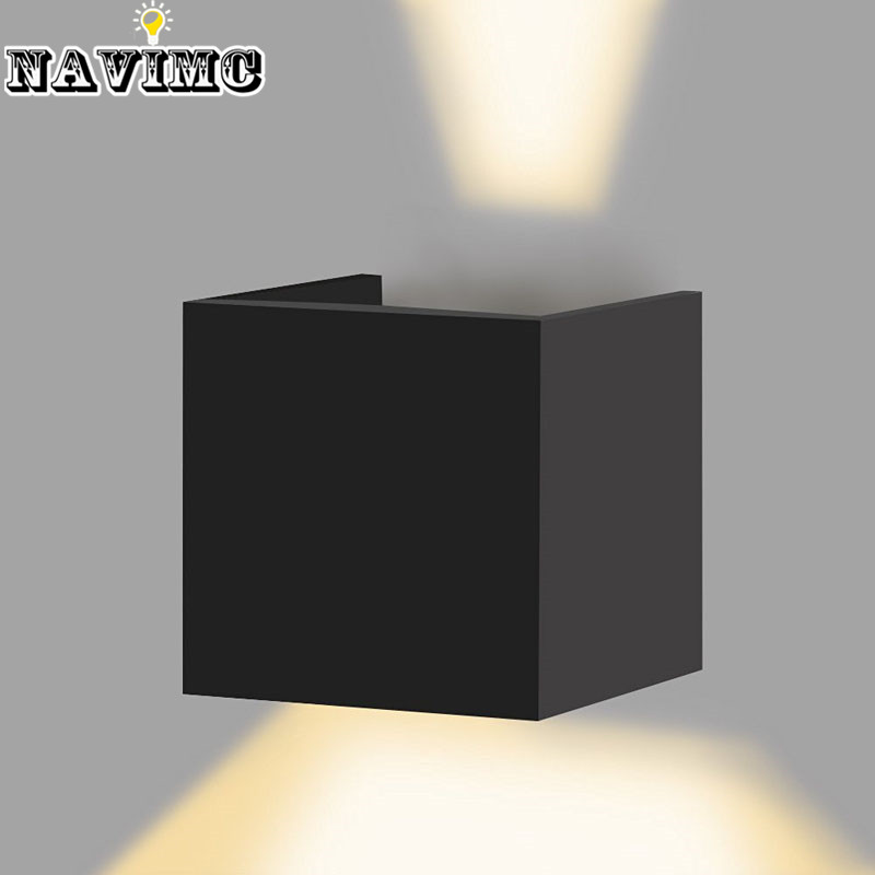 Bathroom Led Lights Dimmable aliexpress : buy modern dimmable indoor waterproof led wall