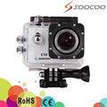 SOOCOO C10 1080p@30fps Sports Action Camera Novatek 96655 170 Degree Wide Angle Lens Waterproof 30m swimming driving DV