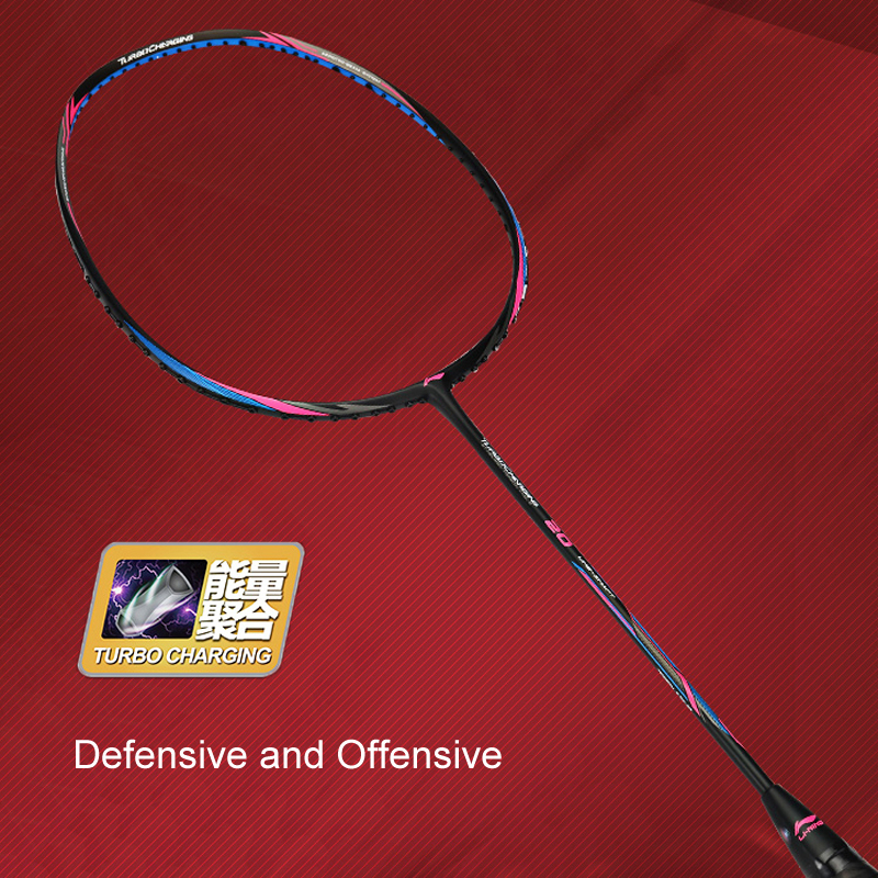 Li Ning Turbo Charging 20 Badminton Racket LiNing Sports Single Racket No String AYPM436