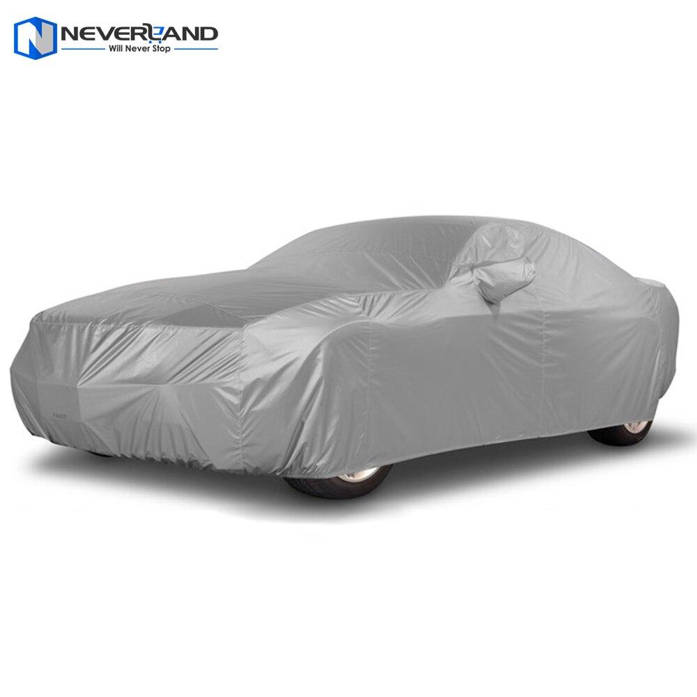 NEVERLAND Indoor Outdoor Car Cover Sun UV Neve Polvere Protezione Resistente Taglia Sml XL Coperture Auto