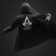 Men Long Sleeve Sweatshirts Black Cloak Shawl Outwear Streetwear Hoodie