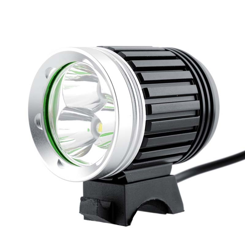 3 xCREE XML T6 3600 Lumens 4-Mode LED lumière de vélo LED phare + 1x batterie + 1 xCharger + 1 xbandeau