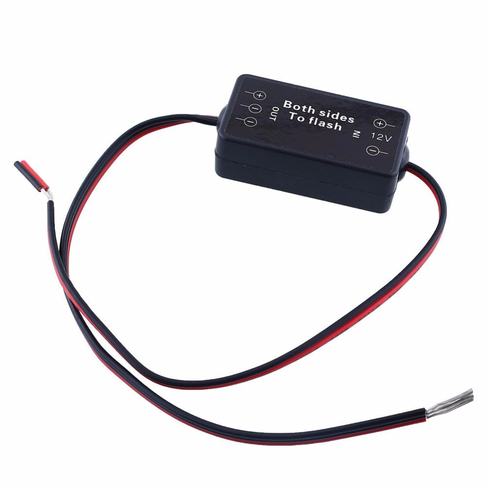 12V Car External Alternating Multi Function Flash Strobe Controller Box Flasher Module F ...