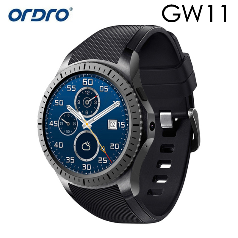 Original GW11 Sports Smart Watch Men Bracelet Bluetooth 4.0 Smart Watch Waterproof for Men With Heart Rate Monitor GPS Camera smart baby watch q60s детские часы с gps голубые