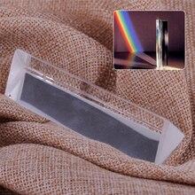 """LETAOSK """" треугольная призма оптического спектра стекло для фотографии физики обучения эксперимента"""