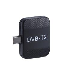 미니 휴대용 DVB T2 dvb t 수신기 마이크로 usb 튜너 hd tv 스틱 안 드 로이드 전화 패드 시계 dvb t2 dvb t 라이브 tv 동글
