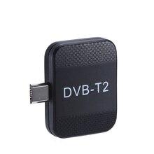 Mini Draagbare DVB T2 DVB T Ontvanger Micro USB Tuner HD TV Stok Op Android Telefoon Pad Horloge DVB T2 DVB T live TV Dongle