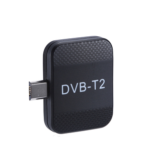 Image 1 - Mini Portable DVB T2 DVB T Receiver Micro USB Tuner HD TV Stick On Android Phone Pad Watch DVB T2 DVB T Live TV Dongle