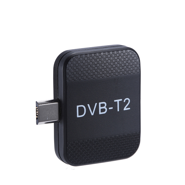 Mini portátil DVB T2 dvb t receptor micro usb sintonizador hd tv vara na almofada do telefone android assistir dvb t2 dvb t tv ao vivo dongle