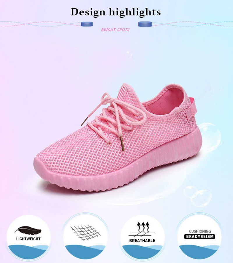 Mesh casual shoes women Breathable Lace Up white sneakers female soft lightweight summer flat Women Vulcanize Shoes 2019 VT243 (2)