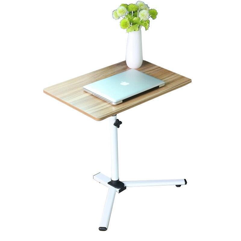Maison salon chambre Table d'ordinateur portable paresseux bureau de levage Mobile Table basse pliante canapé Table latérale ZP6181106