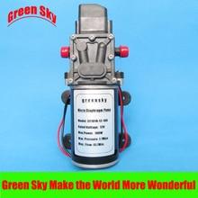 8L/Min 9m Range 100W DC 12V car washing,medical,chemical equipment,lawn and garden use diaphragm water pump