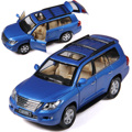 Brand New CAIPO 1/32 Scale Japan LEXUS LX570 SUV Diecast Metal Pull Back Sound & Light Car Model Toy For Gift/Kids