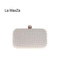 La MaxZa Manufacturing Designer Woman HandBag Wholesale Factory New Fashion Clutch Bag With Wrist Strap Many Colors Evening Bag