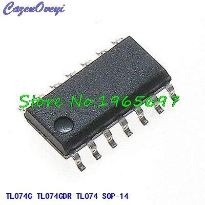 10pcs/lot TL074CDR TL074C TL074 SOP-14 New Original In Stock