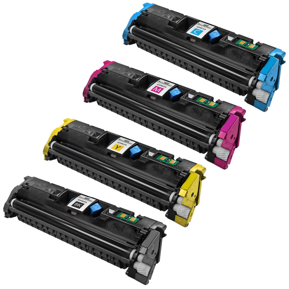 Hisaint Angebot Heißer 4 Pack-Neue Compatilbe Für HP C9700A, C9701A, C9702A, C9703A...