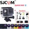 Many Accessory Included 1 5 12MP Original SJCAM SJ4000 WiFi NTK96655 30M Waterproof Sports Action Camera