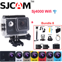 Many Accessory Included 1 5 12MP Original SJCAM SJ4000 WiFi NTK96655 30M Waterproof Sports Action Camera