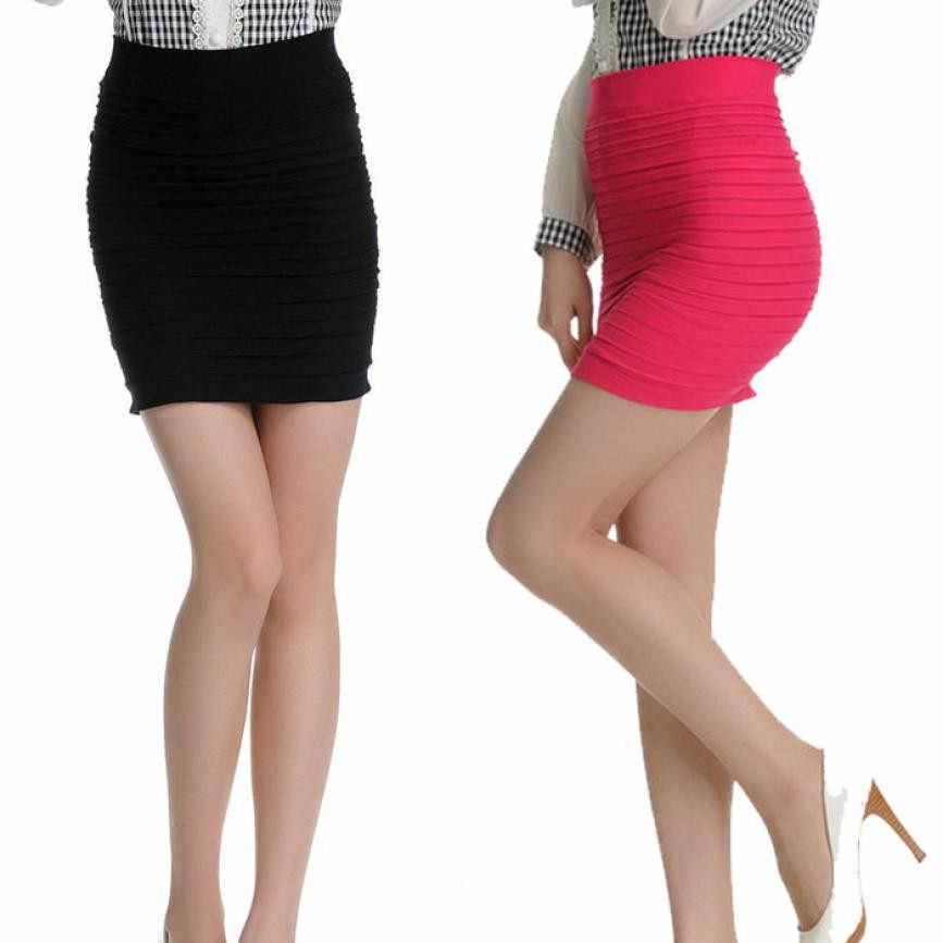 Feitong 2019 ファッションスカートの女性の秋ハイウエストセクシーなショートスカートパッケージヒップショートスカート女性のファッショナブルな Saias Feminina