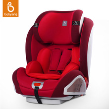 Baby Car Seat For 9 Month- 12 Years Kid & Infant ISOFIX & LATCH Connector Child Safety Seat in Car 5-point Harnes