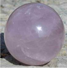 +68mm NATURAL Rose QUARTZ CRYSTAL sphere ball Orb Gem Stone(China)