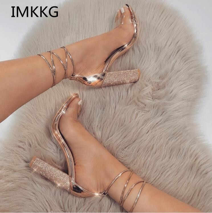 Women Sandals Fashion Strap Sandal Sexy High Heel Party Dress Sandalias Summer Style Casual Shoes f002