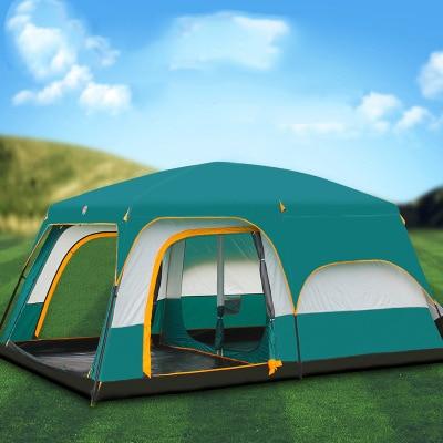 Camping en plein air 5-8 personnes tente étanche multi-personnes tente étanche à la pluie