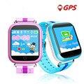 Gps smart watch q750 q100 детские часы с wi-fi 1.54 дюймов сенсорный экран SOSCall Устройства Устройство Слежения для Детей PK Безопасный Q50 Q60 Q80