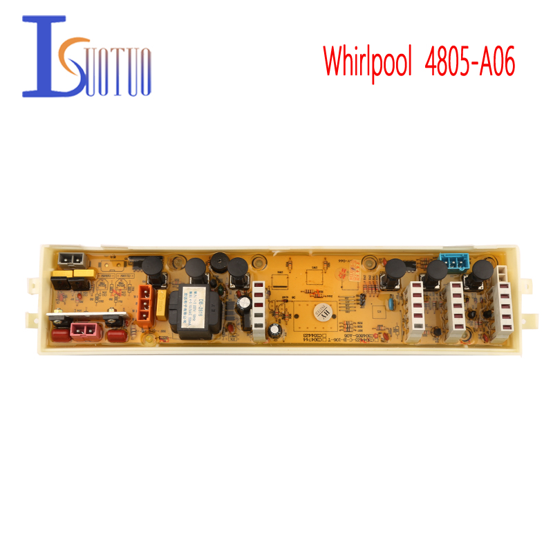 Original Whirlpool washing machine motherboard 4805-A06 new spot commodity whsher parts original whirlpool washing machine motherboard 4805 a06 new spot commodity