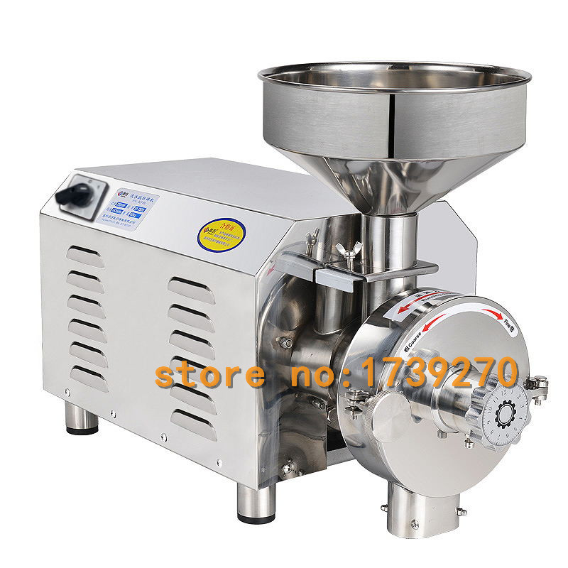new arrival continuity grinder mill machine,electric dry herb,soybean aniseed,pepper,peanut,spice,salt,sesame,g grinding machine