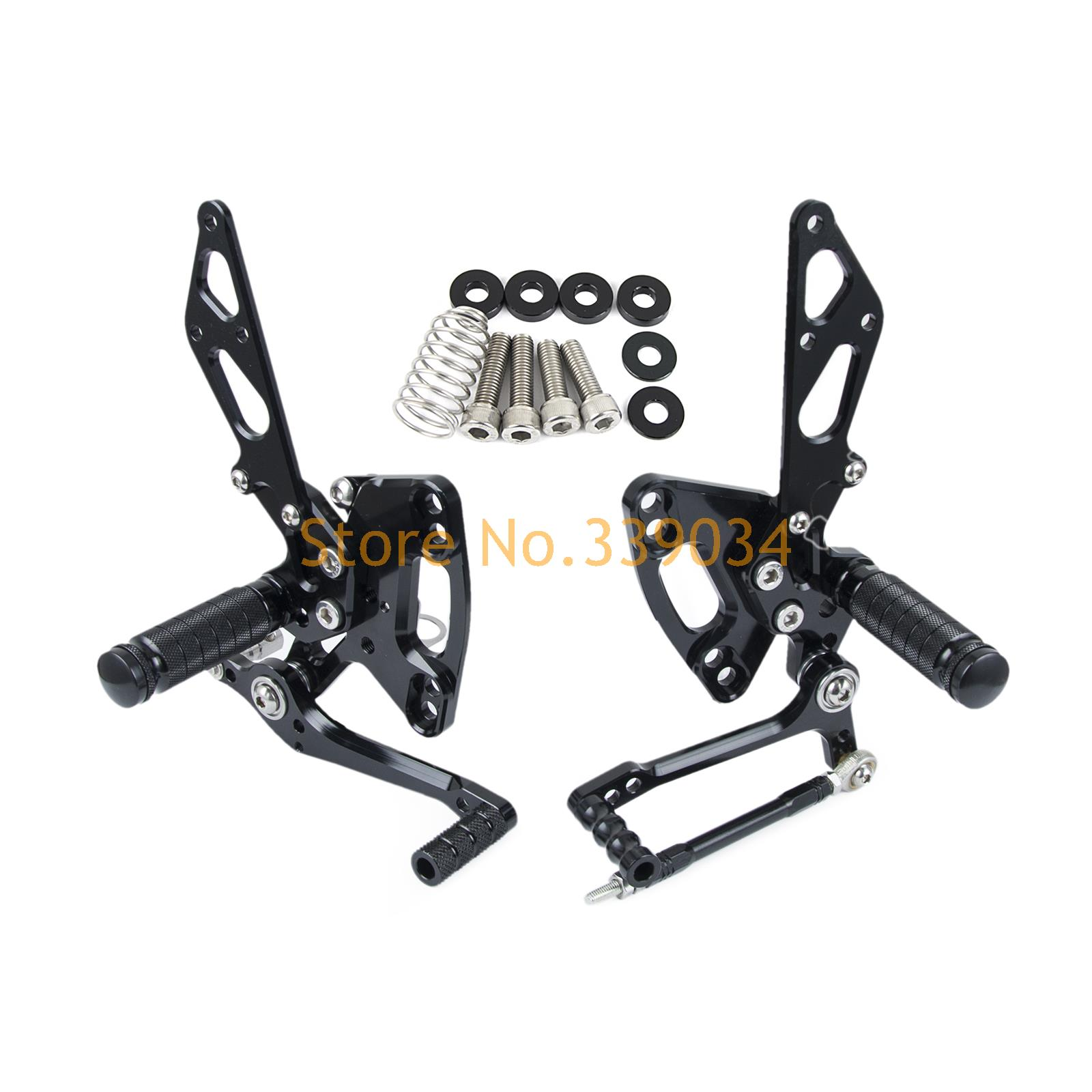 New Arrived CNC Adjustable Foot pegs Rearset Footrests Rear Sets For Kawasaki Ninja 1000 /ABS Z1000/ABS Z1000SX 2011 2012 2013 cnc aluminum motorcycle adjustable rearset rear set foot pegs pedal footrest for kawasaki ninja 650 ex650 er 6n er 6f 2012 2016