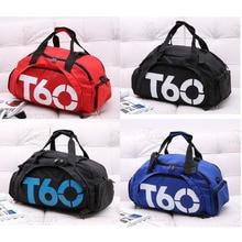 купить Sports BagFfitness Training Backpack Multi-function Travel Shoulder Bag Waterproof Fitness Sports Independent SpaceShoe Bag T60 по цене 803.72 рублей