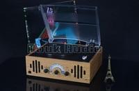 Дук аудио 3 Скорость стерео проигрыватель Ретро LP виниловых AM/fm радио USB с камерой заднего вида