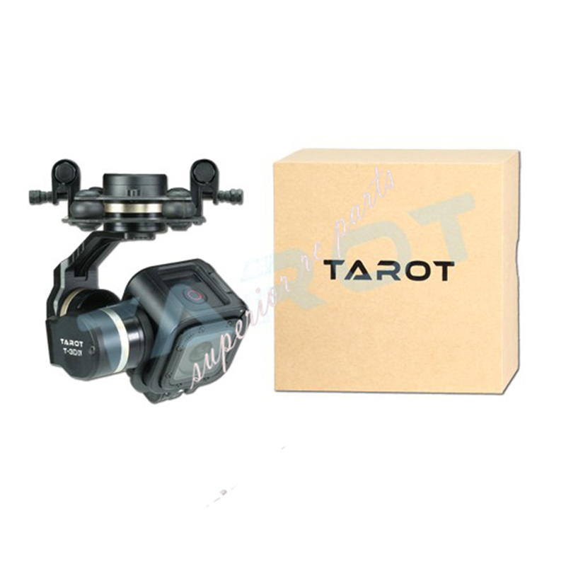 Tarot TL3T02 GOPRO T-3D IV 3 Axis HERO4 SESSION Camera Gimbal PTZ for FPV Quadcopter Drone Multicopter fpv ptz gopro zenmuse h3 3d gimbal carbon fiber adapter plate mounting board for spreading wings s800 s1000 tarot t810