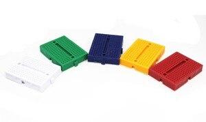 Image 1 - Frete grátis 30 PCS Mini placa de ensaio SYB 170 cor 35*47*8.5mm placa de teste placa universal pode ser costurado