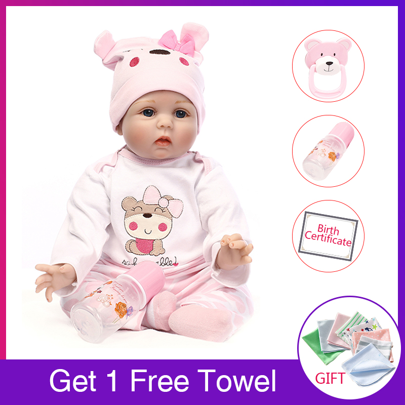 2018 Reborn Baby Doll Kit Cloth Body for 26/'/' in Baby Doll Suit Arianna Doll Kid