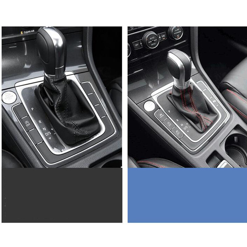 Image 5 - 1PCS Chrome Matt With Leather Shift Knob Gear Side Cover DSG Emblem For VW Golf 6 7 R GTI Passat B7 B8 CC R20 Jetta MK6 GLI-in Gear Shift Knob from Automobiles & Motorcycles