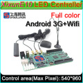 3G/WIFI/GPS  Xixun E10 Wireless Android LED Display Control Card AIPS Platform, LED Android control E10 taxi top sign controller