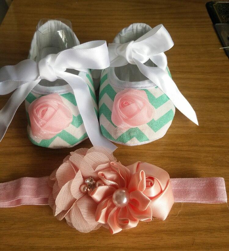 Infant-Crib-Shoes-Diamond-Headbands-Setlittle-girl-baby-walkerInfant-Girl-Shoes-BrandNon-Slip-Baby-Ballerina-Slipper-1