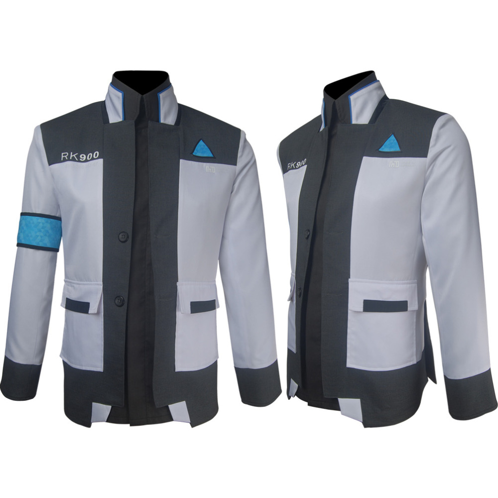 Detroit:Become Human Connor 900 Cos RK900 Agent Suit Uniform Cosplay Costume COSPLAYONSEN