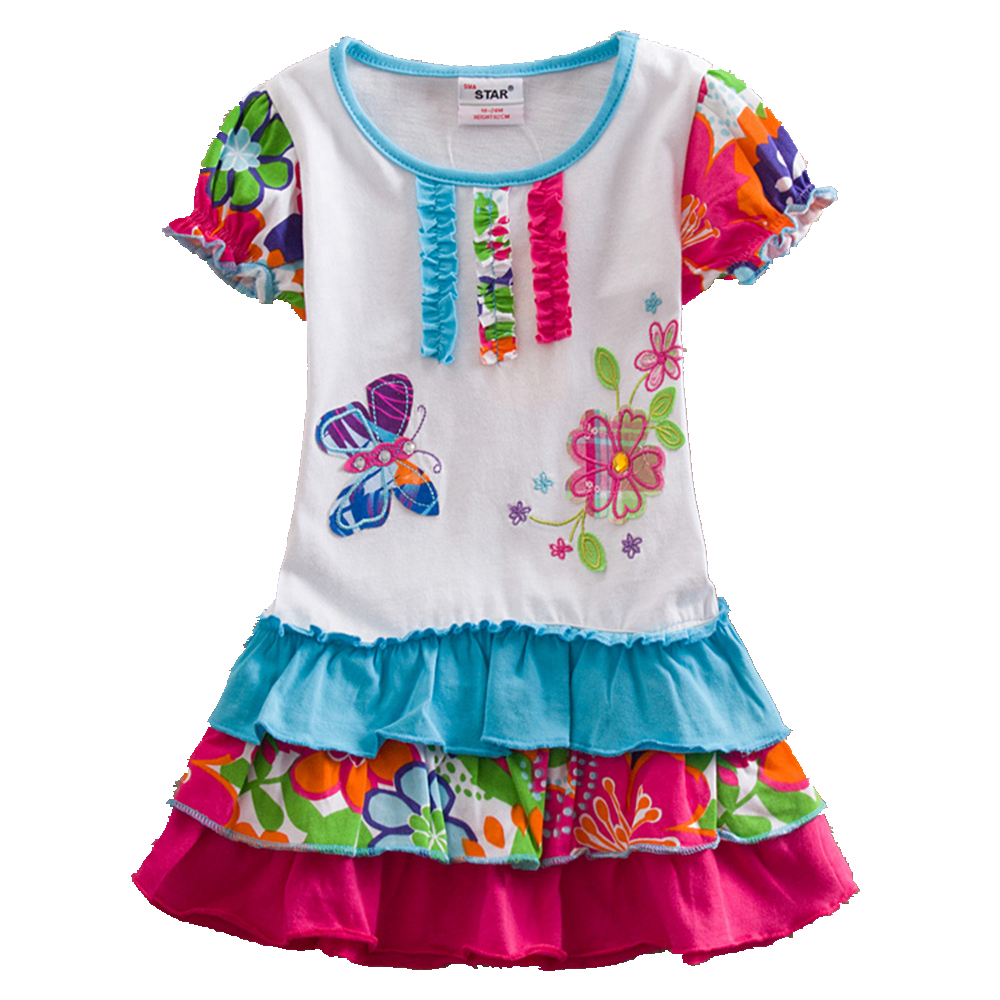 Summer retail new baby girl clothes college style girls