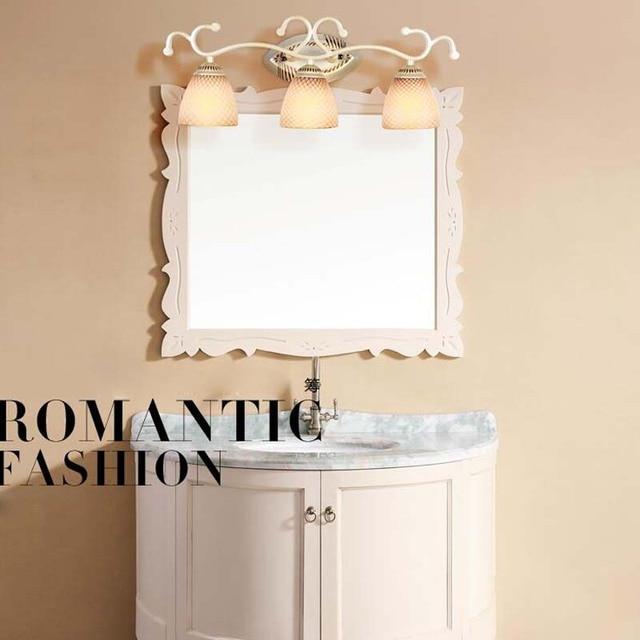 Led lampade da parete d\'epoca in ferro battuto luci specchio bagno ...